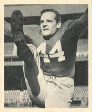 1948 Bowman Frank Reagan #55 Football Card