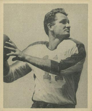 1948 Bowman Tommy Thompson #16 Football Card