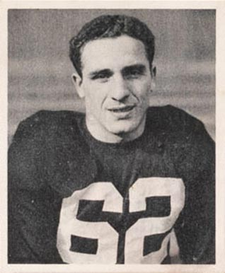 1948 Bowman Charley Trippi #17 Football Card