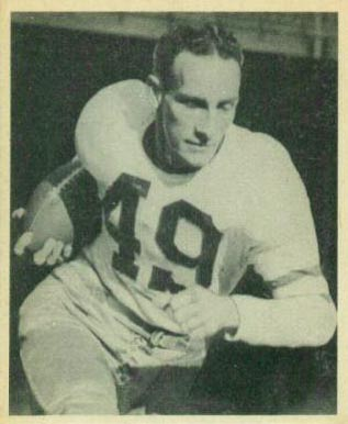 1948 Bowman Pat McHugh #25 Football Card