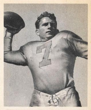 1948 Bowman Bob Waterfield #26 Football Card