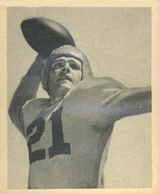 1948 Bowman Jim Hardy #56 Football Card