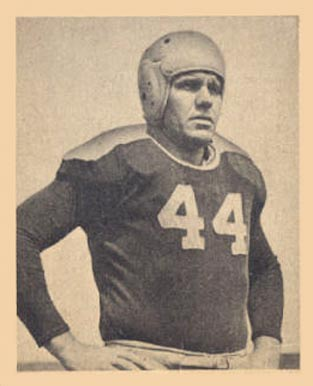 1948 Bowman Buford Ray #108 Football Card