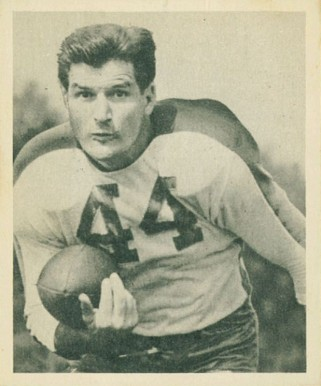 1948 Bowman Ben Kish #88 Football Card