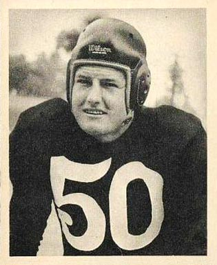1948 Bowman Robert Nussbaumer #58 Football Card