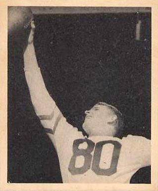 1948 Bowman Neil Armstrong #52 Football Card