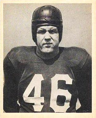1948 Bowman John Koniszewski #24 Football Card