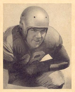 1948 Bowman Paul Briggs #6 Football Card