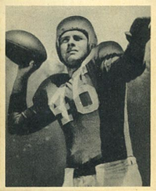 1948 Bowman Fred Enke #98 Football Card