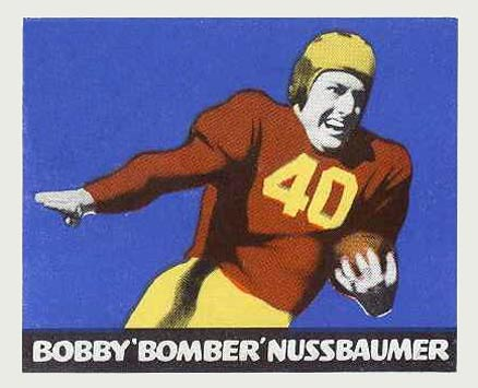 1948 Leaf Bobby Nussbaumer #43-Mar Football Card
