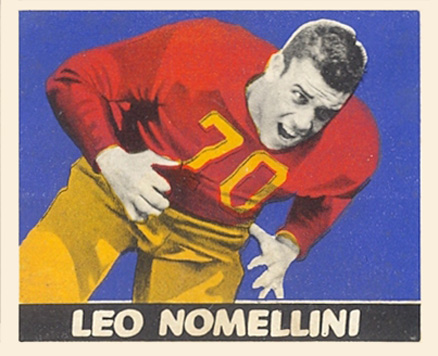 1948 Leaf Leo  Nomellini #52red Football Card