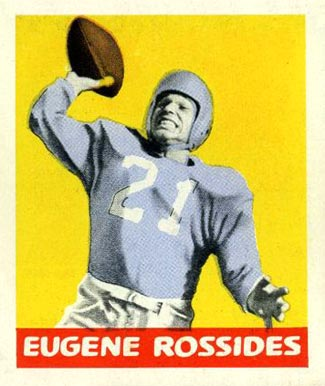1948 Leaf Eugene Rossides #57 Football Card