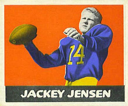 1948 Leaf Jackie Jensen #73-org Football Card