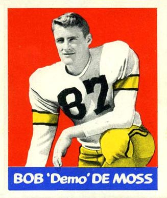 1948 Leaf Bob DeMoss #86 Football Card