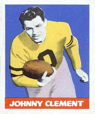 1948 Leaf John Clement #47 Football Card