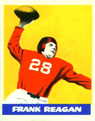 1948 Leaf Frank Reagan #48 Football Card