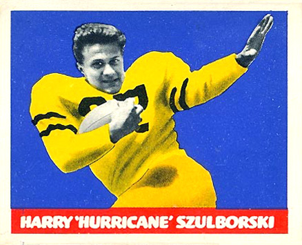 1948 Leaf Harry Szulborski #41-yel Football Card