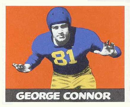 1948 Leaf George Connor #37 Football Card