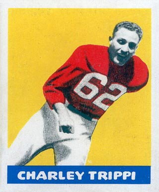 1948 Leaf Charley Trippi #29 Football Card