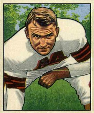 1950 Bowman Lou Rymkus #116 Football Card