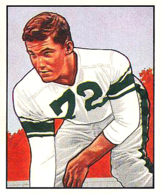 1950 Bowman Earl Murray #113 Football Card