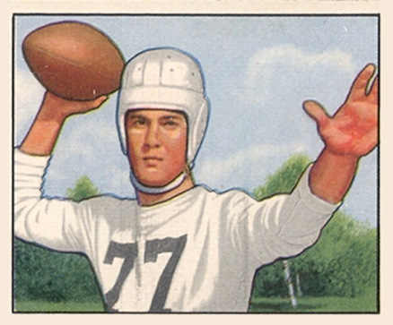 1950 Bowman Bob Gage #54 Football Card