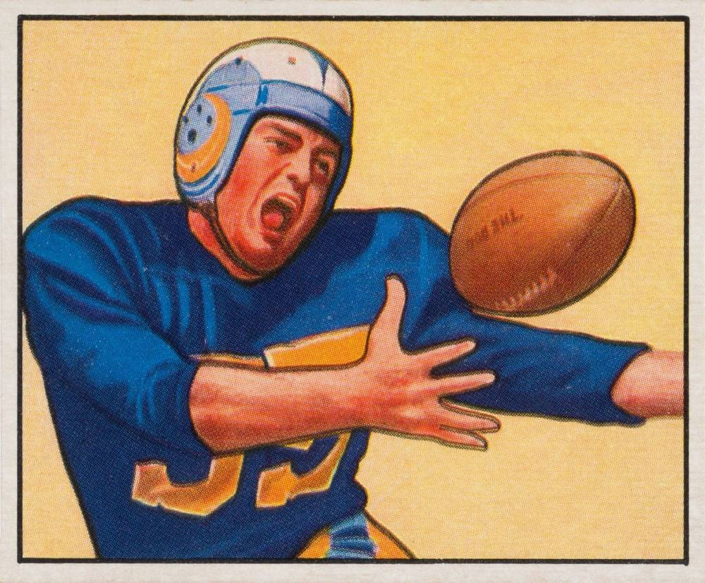 1950 Bowman Tom Fears #51 Football Card