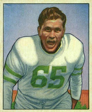1950 Bowman Cliff Patton #24 Football Card