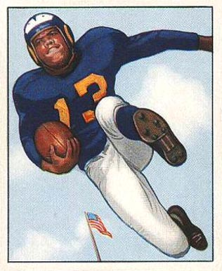 1950 Bowman Tank Younger #15 Football Card