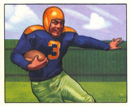 1950 Bowman Tony Canadeo #9 Football Card
