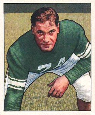 1950 Bowman Jonathan Jenkins #4 Football Card