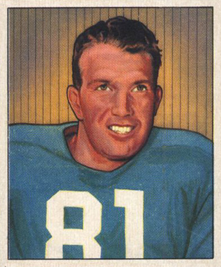 1950 Bowman John Greene #2 Football Card