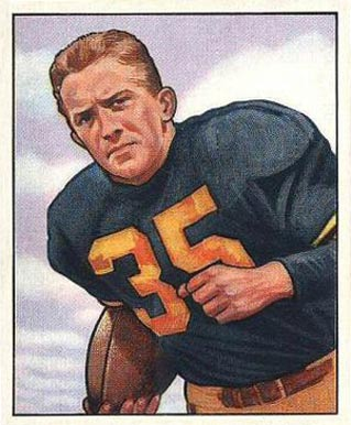 1950 Bowman Joe Geri #19 Football Card