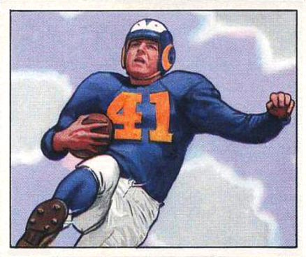 1950 Bowman Glenn Davis #16 Football Card