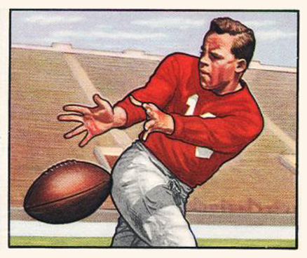 1950 Bowman Emil Sitko #71 Football Card