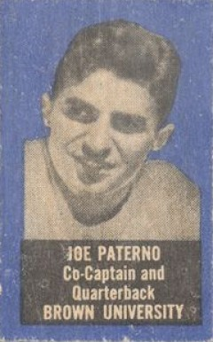 1950 Topps Felt Backs Joe Paterno #64 Football Card