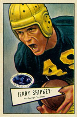 1952 Bowman Large Jerry Shipkey #139 Football Card