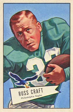 1952 Bowman Large Russ Craft #116 Football Card