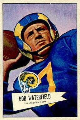 ACEO BOB WATERFIELD LOS ANGELES RAMS CUSTOM HAND MADE ART CARD