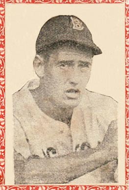 1946 Propagandas Monteil Los Reyes del Deporte Ted Williams #44 Baseball Card