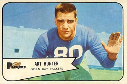 1954 Bowman Art Hunter #58 Football Card