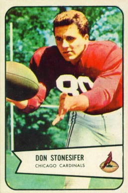 1954 Bowman Don Stonesifer #48 Football Card