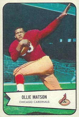 1954 Bowman Ollie Matson #12 Football Card