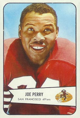 1954 Bowman Joe Perry #6 Football Card