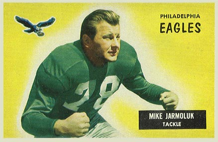 1955 Bowman Mike Jarmoluk #151 Football Card