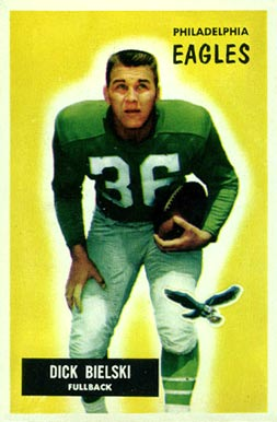1955 Bowman Dick Bielski #149 Football Card