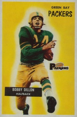 1955 Bowman Bobby Dillon #122 Football Card