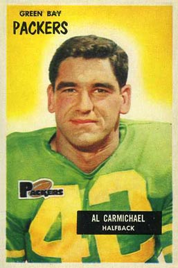 1955 Bowman Al Carmichael #102 Football Card