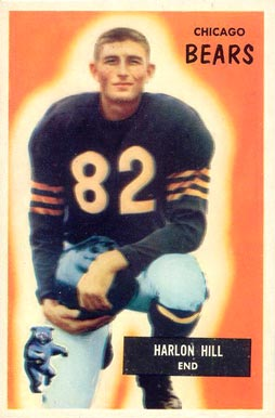 1955 Bowman Harlon Hill #33 Football Card