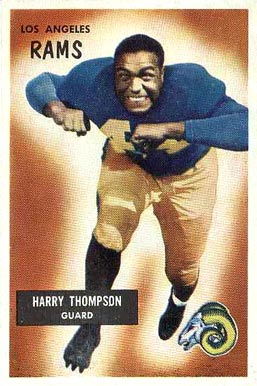 1955 Bowman Harry Thompson #23 Football Card